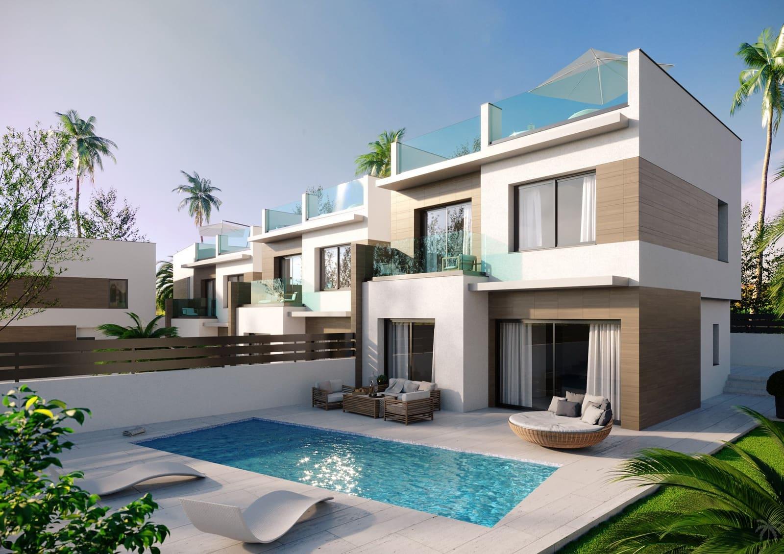 Adosado de 3 habitaciones en Benijófar en venta con piscina - 295.000 € (Ref: 5073610)