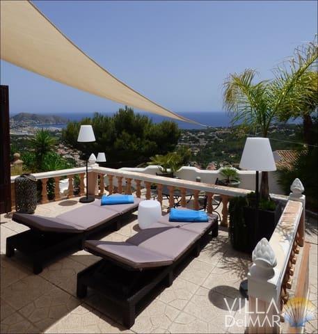 2 sovrum Semi-fristående Villa till salu i Moraira med pool - 234 900 € (Ref: 4668146)