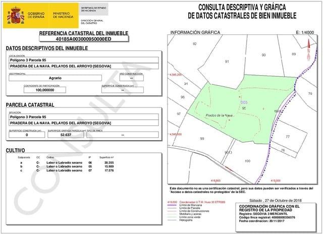 Finca/Maison de Campagne à vendre à Pelayos del Arroyo - 46 000 € (Ref: 4576392)