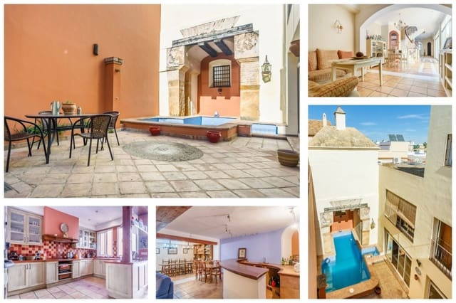 6 soveværelse Villa til salg i Utrera med swimmingpool garage - € 425.000 (Ref: 4818494)