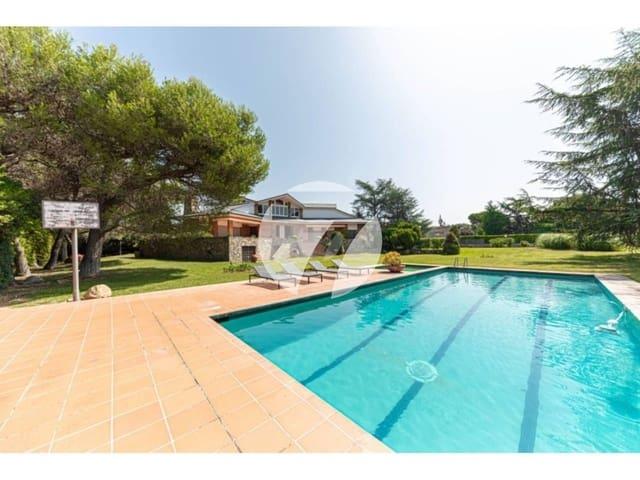 5 chambre Villa/Maison à vendre à Montornes del Valles avec piscine garage - 1 750 000 € (Ref: 5385209)