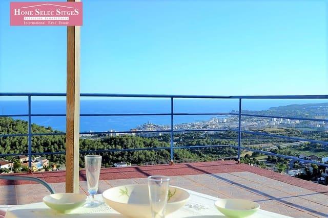 6 sypialnia Dom na sprzedaż w Sitges z basenem garażem - 900 000 € (Ref: 6013085)