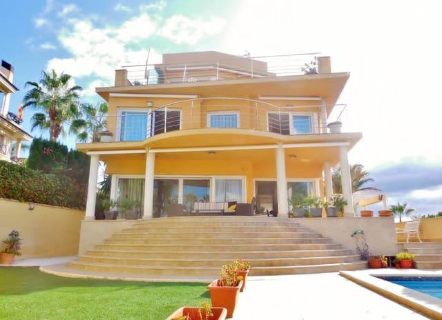 5 sypialnia Willa na sprzedaż w Cabo de las Huertas z basenem garażem - 1 620 000 € (Ref: 5112791)