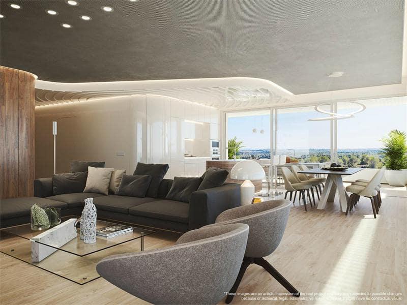 3 sovrum Takvåning till salu i Las Colinas Golf med pool - 765 000 € (Ref: 5264199)