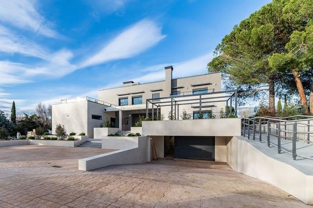5 soverom Villa til salgs i Villanueva de la Canada med svømmebasseng garasje - € 2 700 000 (Ref: 5531675)