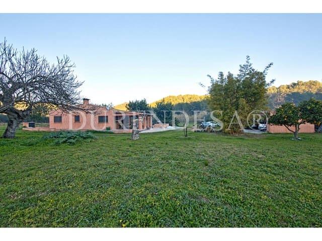 4 chambre Finca/Maison de Campagne à vendre à Peguera / Paguera avec garage - 850 000 € (Ref: 5875025)