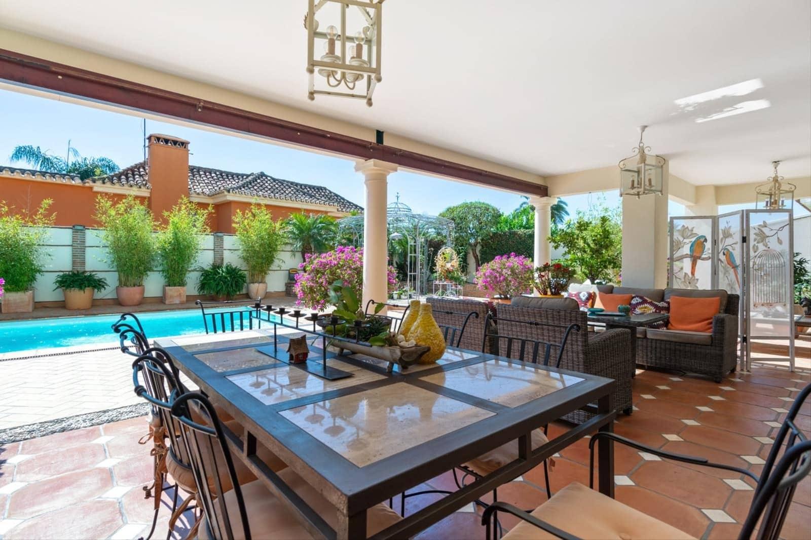 4 bedroom Villa for sale in Marbella with pool garage - € 1,180,000 (Ref: 4456203)