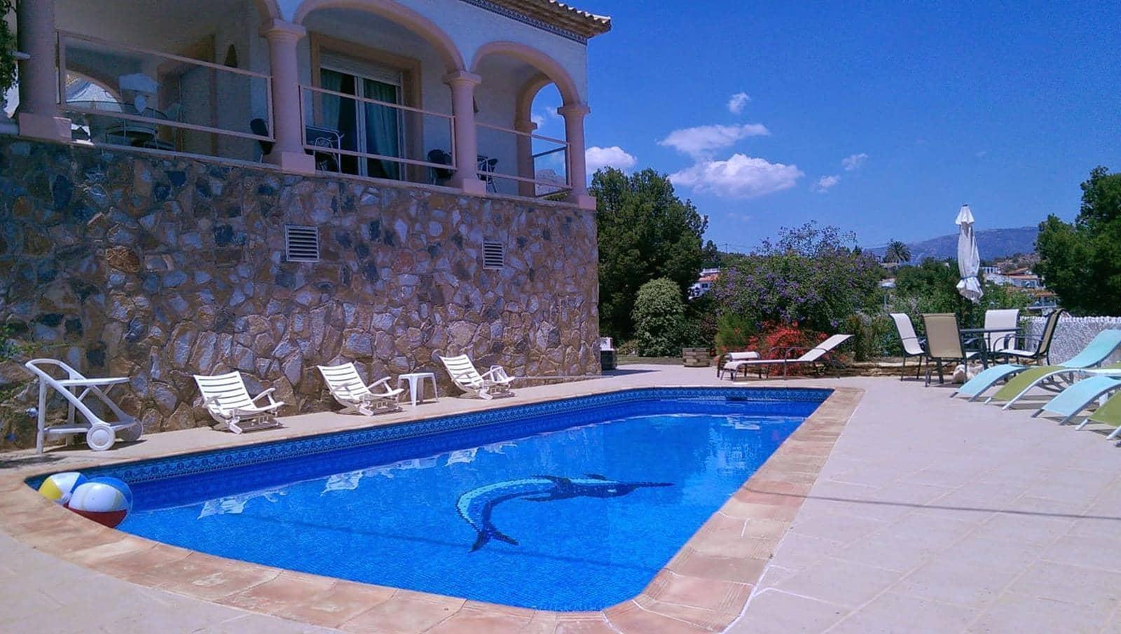 4 bedroom Villa for rent in La Nucia with pool garage - € 1,600 (Ref: 5035550)