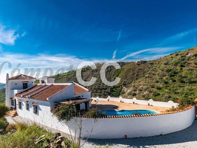 Ref:Cortijo Barco Finca/Country House For Sale in Sedella