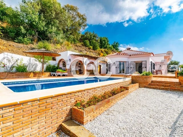 Ref:Cortijo Sya Villa For Sale in Sayalonga