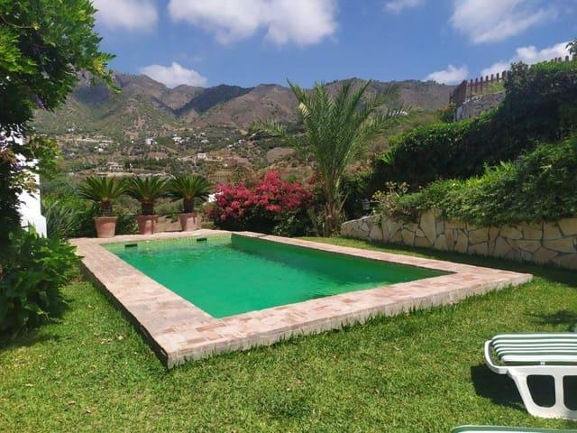 Ref:Cortijo Arabe Finca/Country House For Sale in Frigiliana