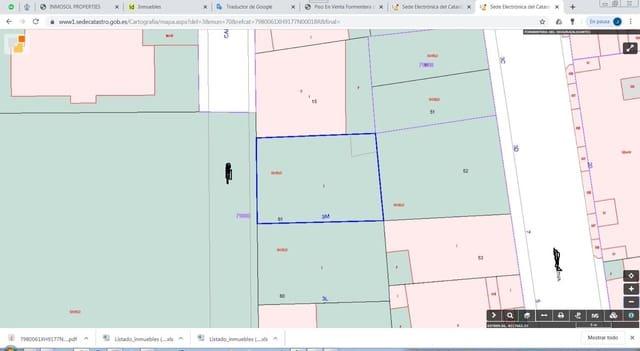 Ubebygd land til salgs i Formentera del Segura - € 105 000 (Ref: 4972877)