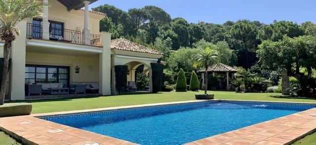 4 sypialnia Willa do wynajęcia w La Zagaleta z garażem - 17 000 € (Ref: 5506493)