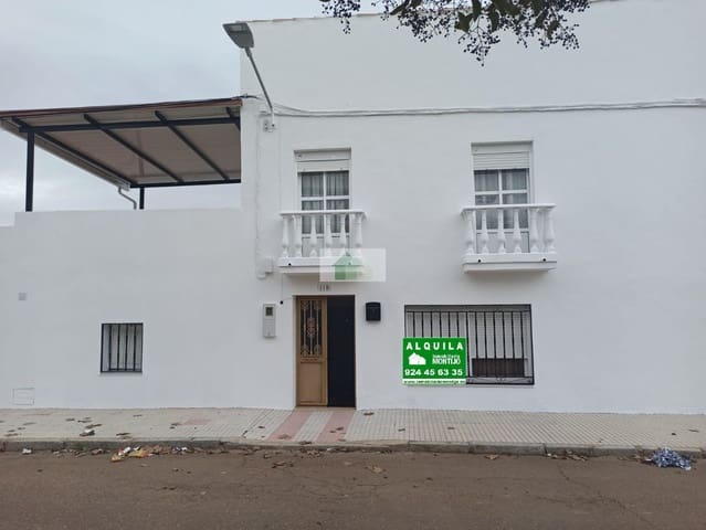 2 slaapkamer Villa te huur in Guadajira - € 250 (Ref: 5784996)