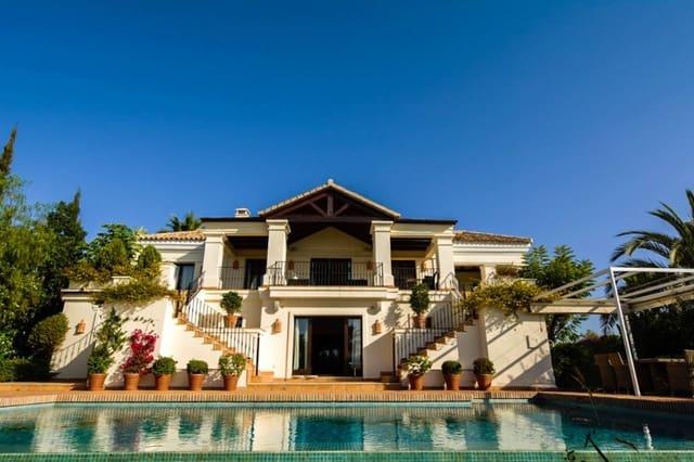 4 makuuhuone Huvila myytävänä paikassa Benahavis mukana uima-altaan  autotalli - 1 700 000 € (Ref: 3618122)