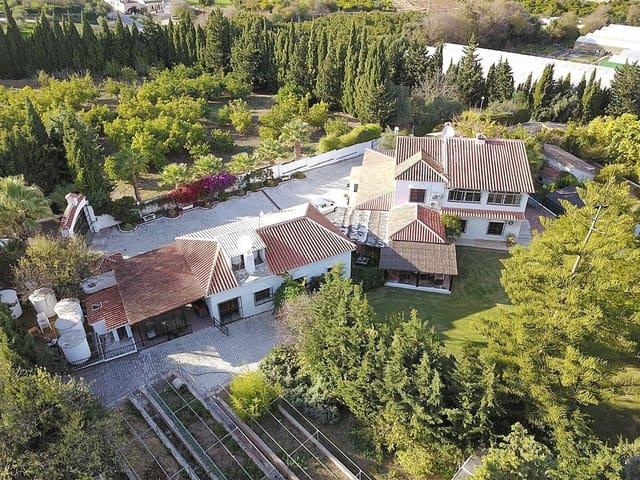 6 quarto Quinta/Casa Rural para venda em Alhaurin el Grande com piscina garagem - 925 000 € (Ref: 4990459)