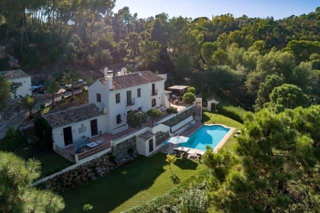 Chalet de 4 habitaciones en El Madroñal en venta con piscina garaje - 1.195.000 € (Ref: 5584363)