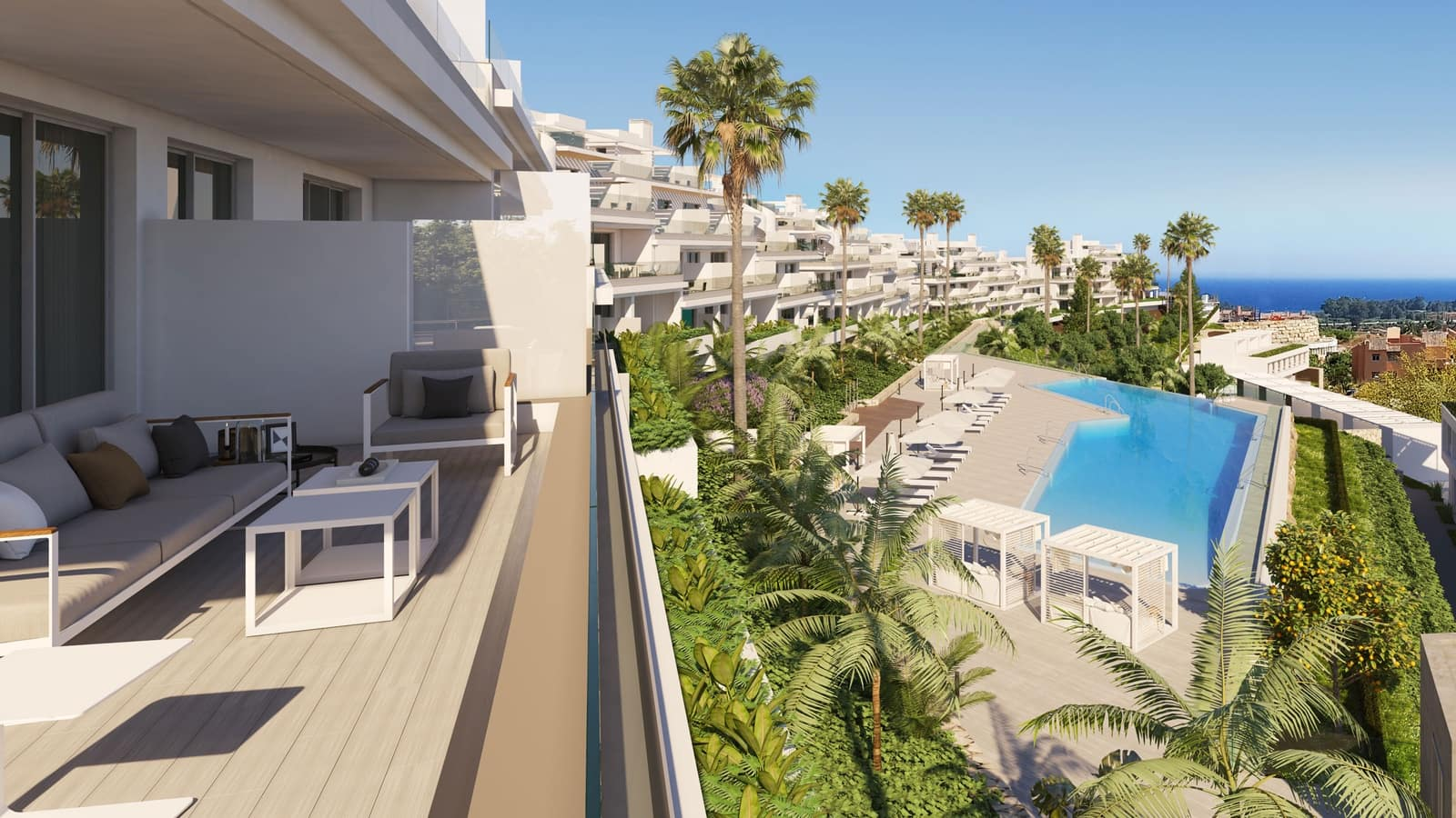 2 bedroom Penthouse for sale in Marbella with pool garage - € 380,000 (Ref: 4706132)