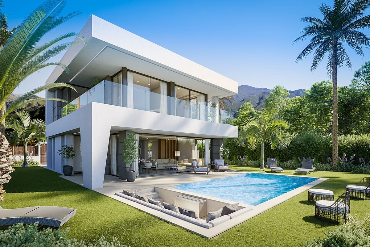 4 bedroom Villa for sale in Marbella with pool garage - € 525,000 (Ref: 5057751)