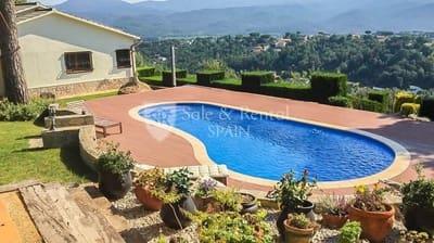 4 Zimmer Villa zu verkaufen in Riells i Viabrea mit Pool Garage - 459.000 € (Ref: 4416713)
