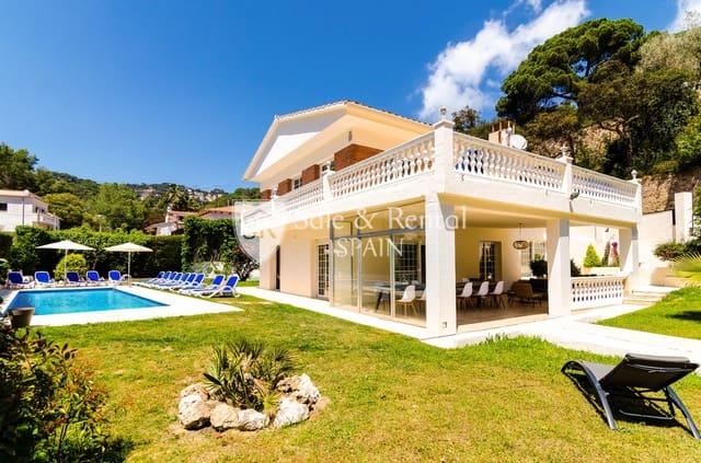 6 sypialnia Willa na sprzedaż w Lloret de Mar z basenem garażem - 550 000 € (Ref: 5791810)