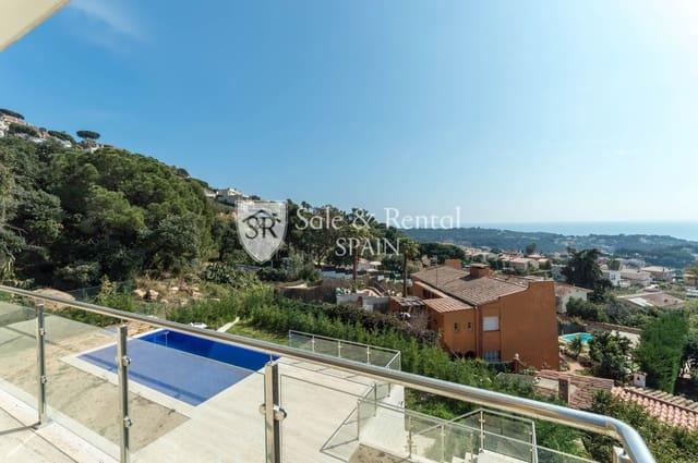 Chalet de 4 habitaciones en Lloret de Mar en venta con piscina garaje - 1.395.000 € (Ref: 5957927)