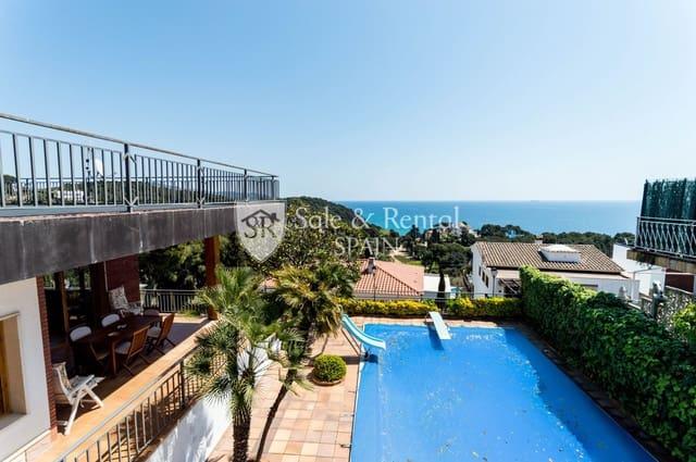 5 sypialnia Willa na sprzedaż w Santa Cristina d'Aro z basenem garażem - 790 000 € (Ref: 6028448)