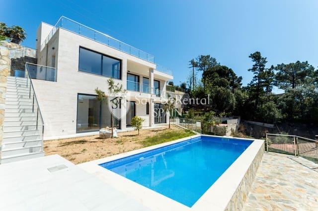 4 sypialnia Willa na sprzedaż w Lloret de Mar z basenem garażem - 950 000 € (Ref: 6041028)