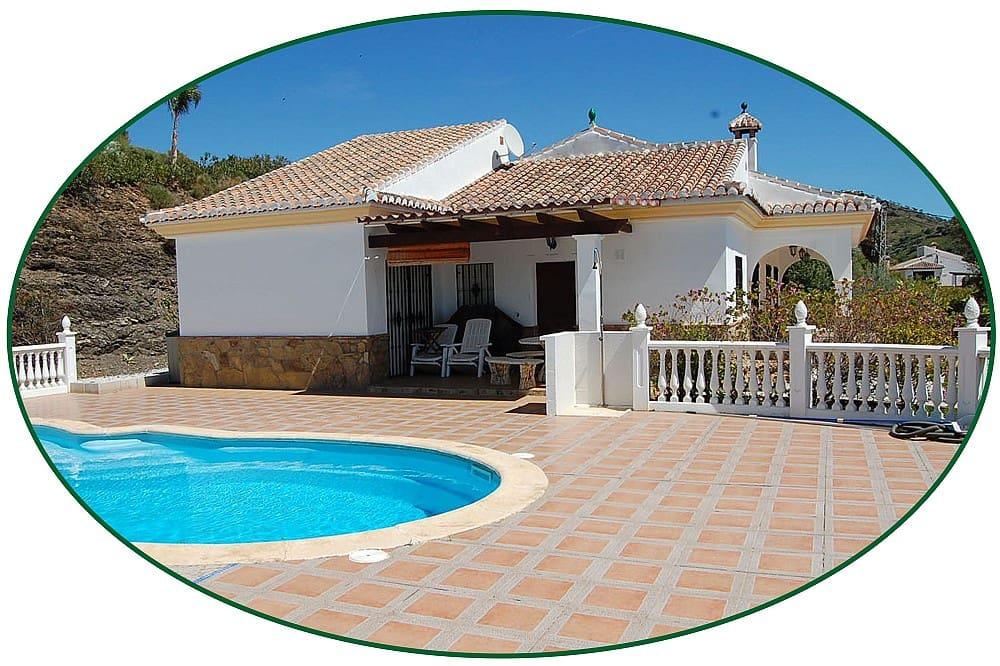 3 bedroom Villa for sale in Canillas de Aceituno with pool - € 349,950 (Ref: 4373598)