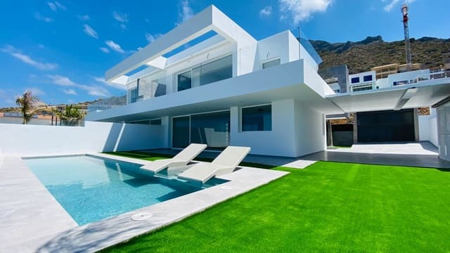 3 soverom Villa til leie i Roque del Conde med svømmebasseng garasje - € 3 500 (Ref: 6065883)