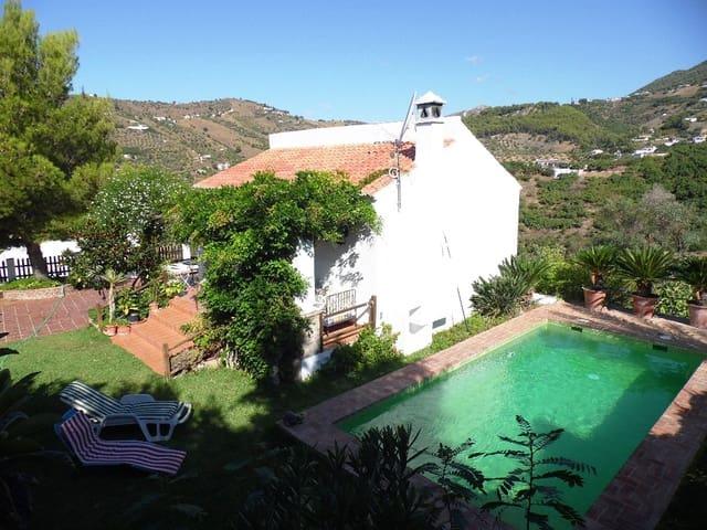 2 quarto Quinta/Casa Rural para venda em Frigiliana com piscina - 315 000 € (Ref: 5534341)