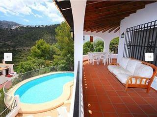 3 soverom Villa til leie i Monte Pego med svømmebasseng - € 1 200 (Ref: 4823529)