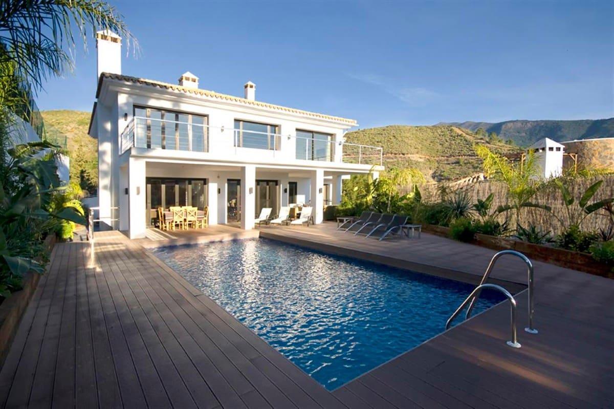 6 Zimmer Ferienvilla in Benahavis mit Pool Garage - 4.000 € (Ref: 3604390)