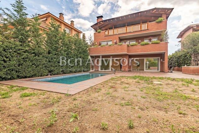 6 chambre Maison de Ville à vendre à Sant Just Desvern - 4 500 000 € (Ref: 5964635)