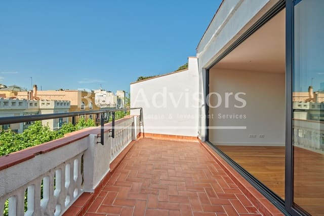 2 bedroom Penthouse for sale in Barcelona city - € 1,150,000 (Ref: 6014565)