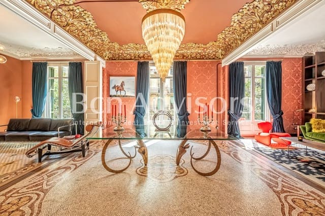5 sypialnia Mieszkanie na sprzedaż w Miasto Barcelona - 2 300 000 € (Ref: 6236749)