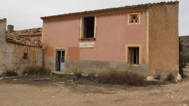 Ruin for sale in Caudete - € 111,000 (Ref: 5018439)