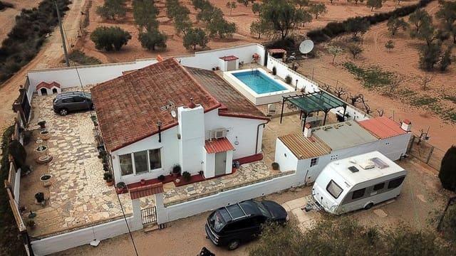 Chalet de 4 habitaciones en Sax en venta con piscina garaje - 169.995 € (Ref: 5931777)