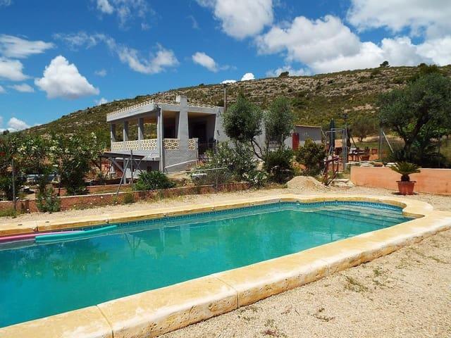 Finca/Casa Rural de 3 habitaciones en Sax en venta con piscina - 164.950 € (Ref: 6111479)