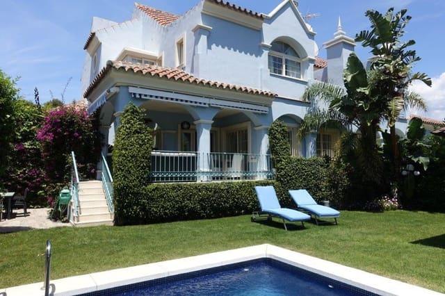 Pareado de 5 habitaciones en Puerto Banus en alquiler vacacional con piscina garaje - 3.500 € (Ref: 3172165)