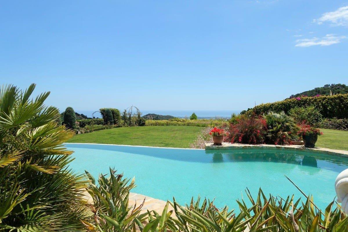 5 Zimmer Ferienvilla in Benahavis mit Pool Garage - 10.000 € (Ref: 3500194)