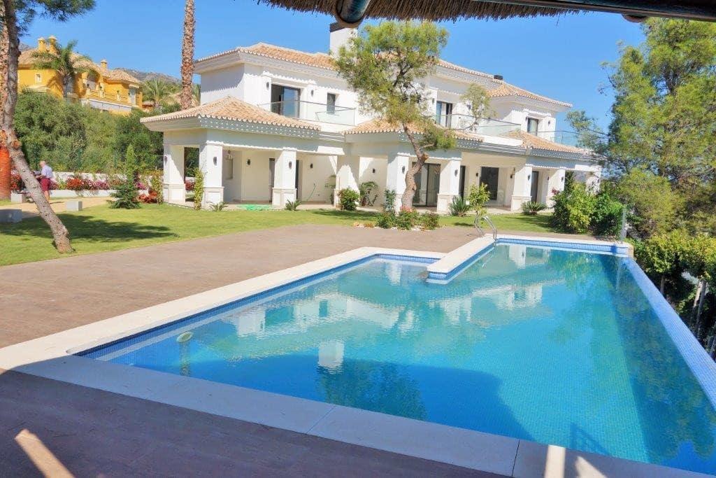 5 bedroom Villa for sale in Marbella with pool garage - € 4,900,000 (Ref: 3569855)