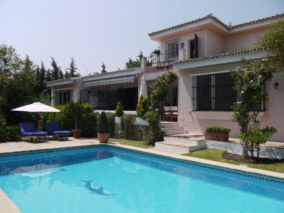 3 Zimmer Ferienvilla in Marbella mit Pool Garage - 4.000 € (Ref: 3612173)