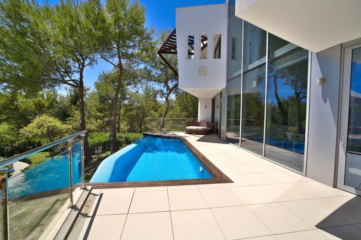 5 sovrum Semi-fristående Villa att hyra i Marbella med pool garage - 10 000 € (Ref: 4446301)