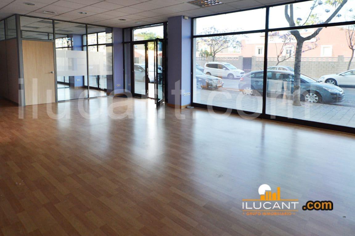 Commercieel te huur in Alicante stad - € 1.100 (Ref: 3906562)