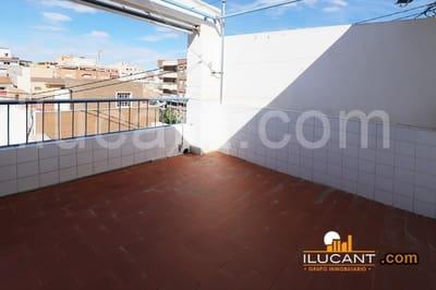 3 sovrum Takvåning att hyra i Alicante stad - 490 € (Ref: 4045996)