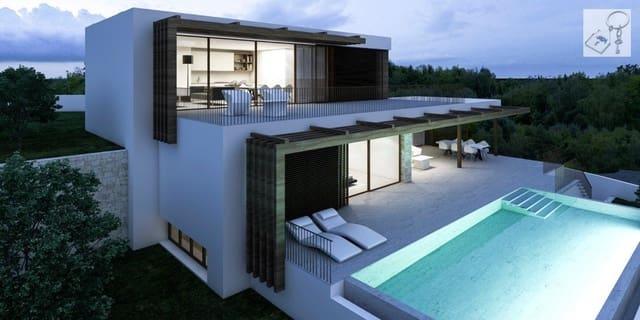 4 makuuhuone Huvila myytävänä paikassa Benissa mukana uima-altaan - 1 550 000 € (Ref: 6270151)