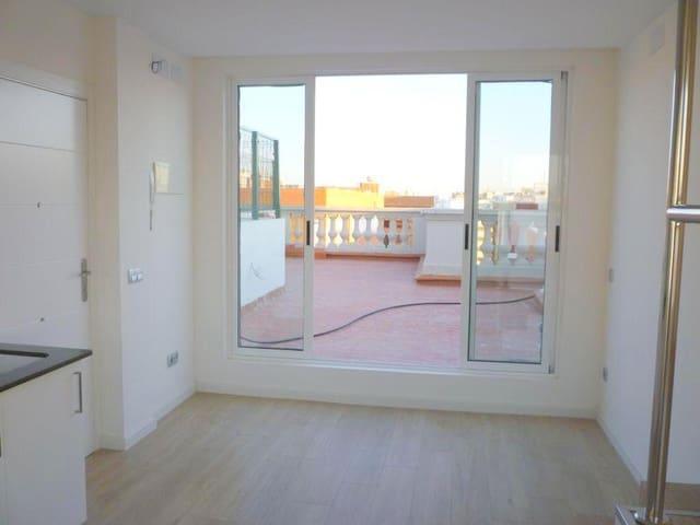 1 soveværelse Penthouse til leje i Valencia by med swimmingpool - € 700 (Ref: 5978608)