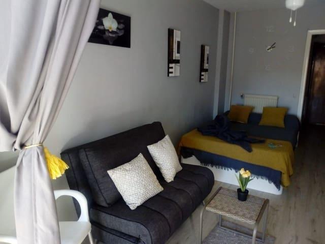 1 soveværelse Studio til leje i Cala de Finestrat med swimmingpool garage - € 400 (Ref: 5740388)