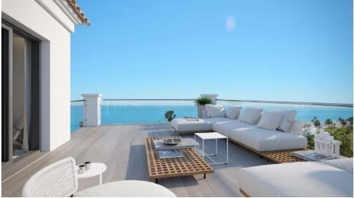 1 bedroom Penthouse for sale in Manilva with pool garage - € 213,000 (Ref: 4755534)